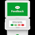 terminal de feedback Smiley Touch™ (táctil)