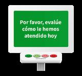 terminal de feedback Smiley Terminal™ (con botones)